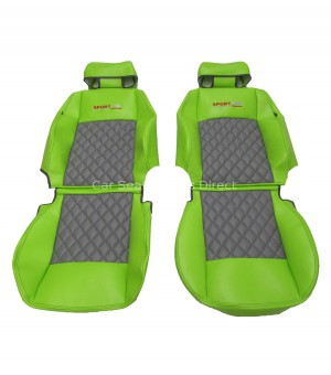 Volkswagen Caddy Green Custom-Made Seat Covers