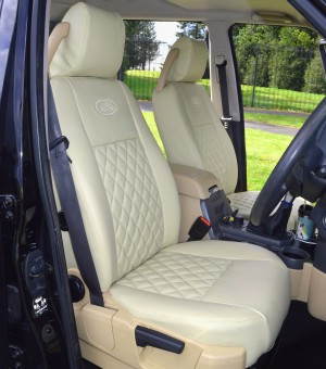 Land Rover Discovery 3 Tailored Waterproof Seat Covers