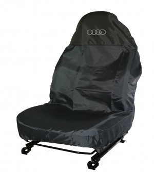 AUDI A4 Polyester Single Seat Protector Audi Rings Logo