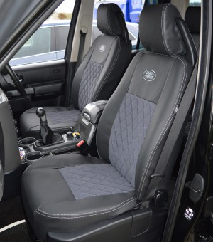 Land Rover Discovery 3 Tailored Diamond Quilted Seat Covers