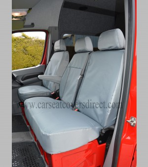 Volkswagen VW Crafter Extra Heavy Duty Grey Seat Covers