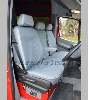 Mercedes Sprinter drivers seat with heavy duty seat covers