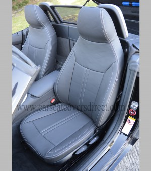 BMW Z4 E89 Tailored Waterproof Leather Look Seat Covers