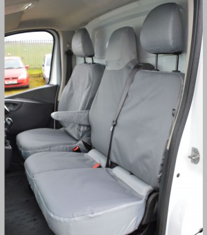 Renault Trafic Extra Heavy Duty Seat Covers