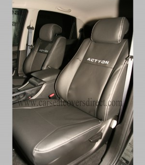 Custom SSANG YONG ACTYON Seat Covers