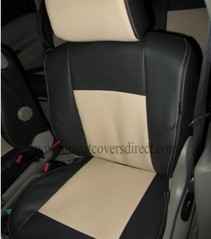 CITROEN XSARA PICASSO Black & Beige Seat Covers_7