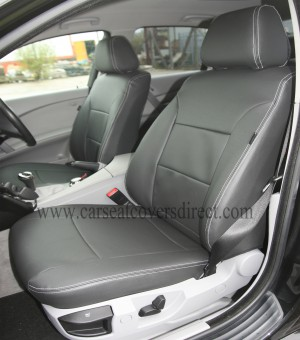 BMW 5 SERIES E60 Black Seat Covers