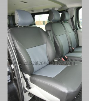 Renault Trafic 9 Seater Tailored Seat Covers