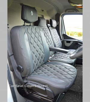 Renault Master Tailored Seat Covers - Drivers Seat