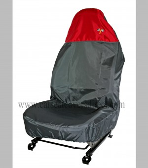 Single seat protector polyester