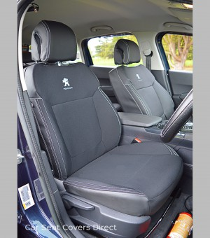 Peugeot 3008 Seat Cover - Drivers seat covered in fabric