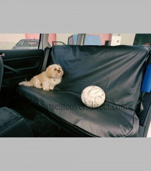 Rear seat protector leatherette