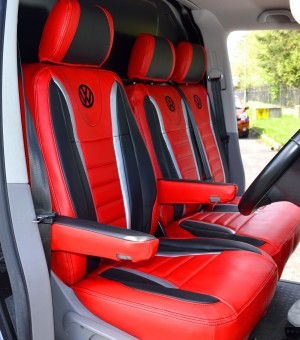 VW Transporter T6 Raceline Tailored Seat Covers