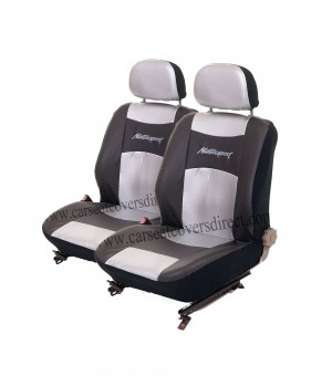 Motorsport UNIVERSAL Seat Covers (silver)