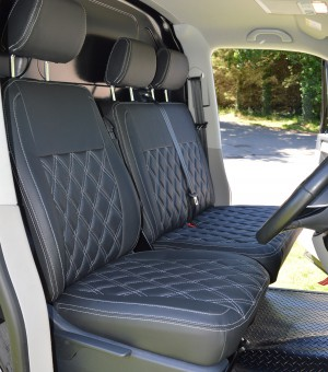 VW Transporter T56Tailored Seat Covers - Front seats