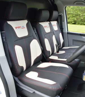 VW Transporter T5 Seat Covers - Driver seat