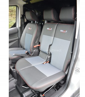 Ford Transit Connect 2nd Gen (2013-Present) Foam Backed Custom Made Seat Covers