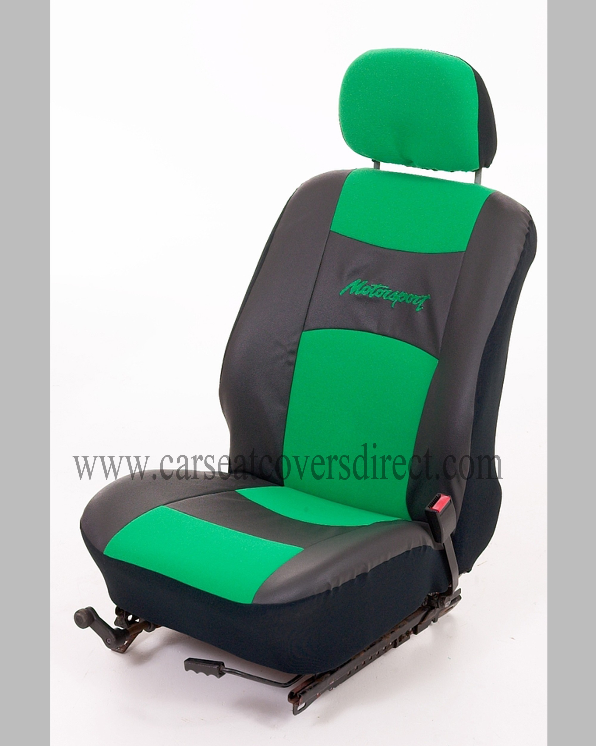 Motorsport UNIVERSAL Seat Covers Green Car Seat Covers
