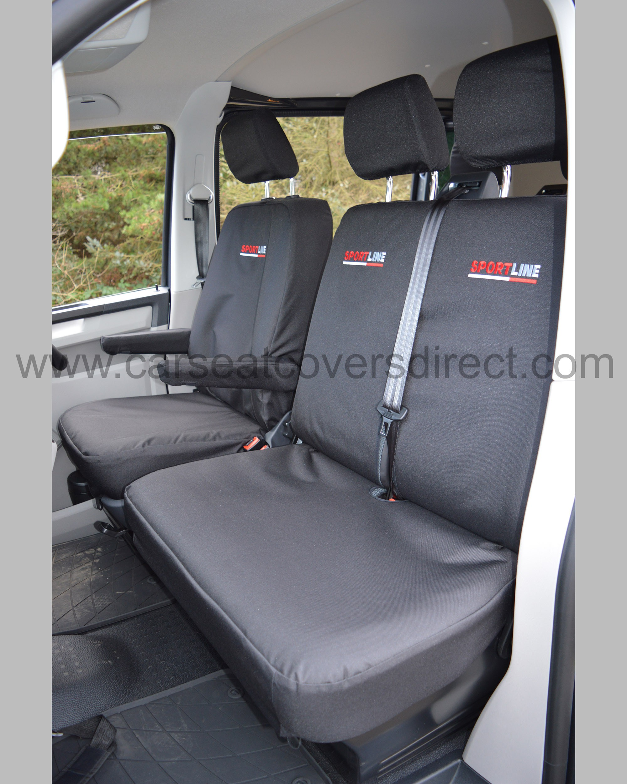 VW Transporter T6 Sportline Extra Heavy Duty Seat Covers