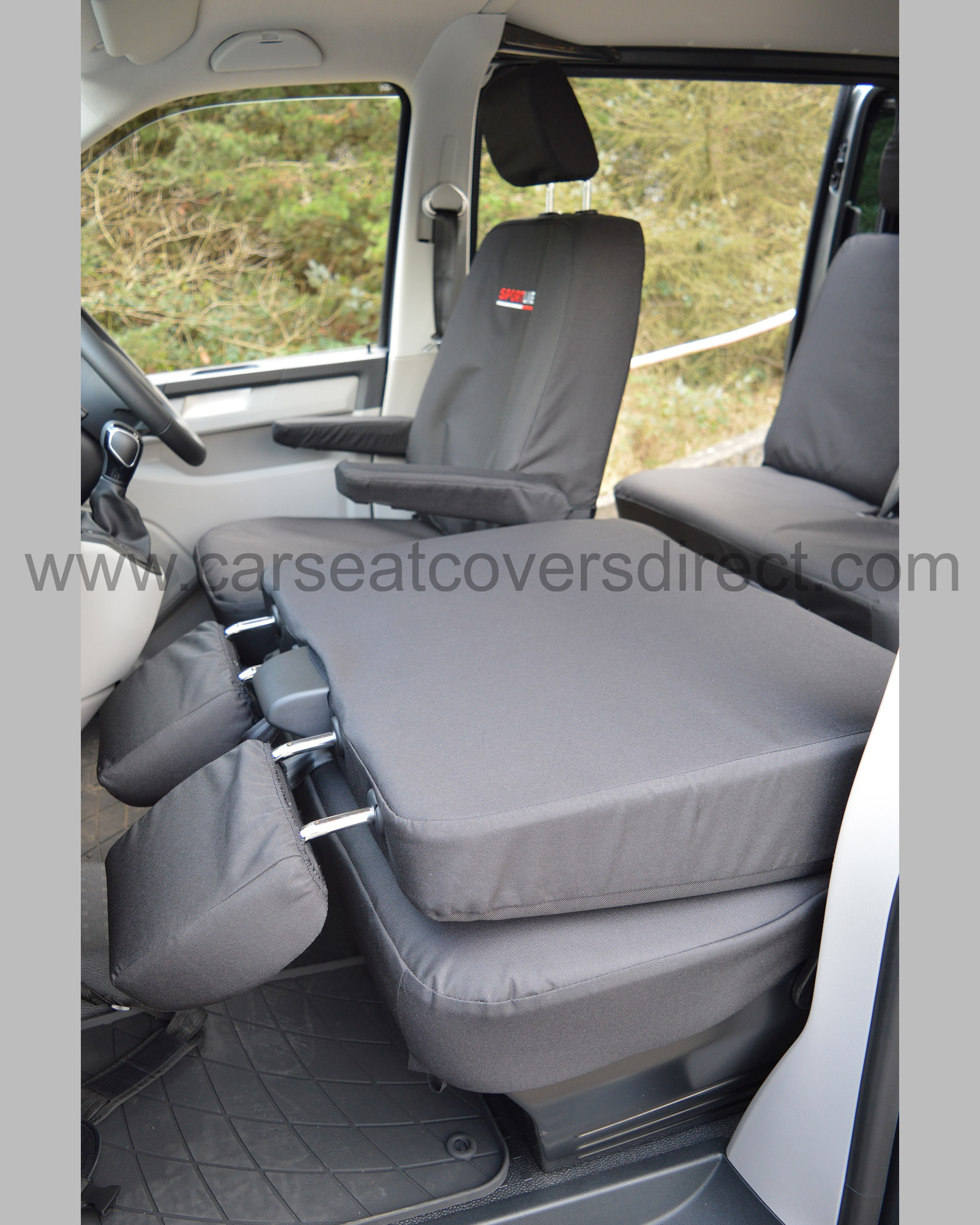 Car Bench Seat Covers >> VW T6 Seat Covers - Sportline EXTRA Heavy Duty