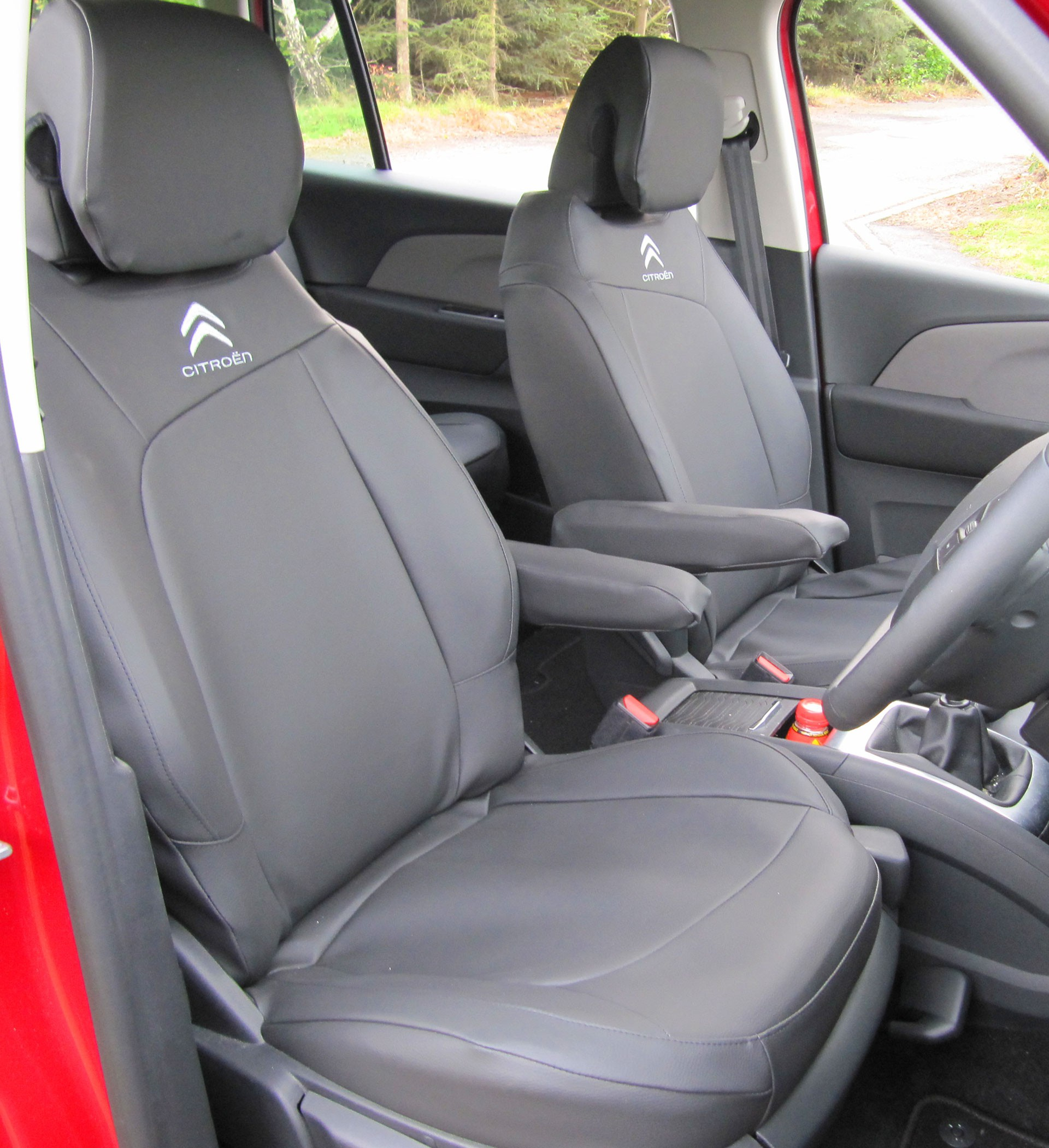 CITROEN C4 PICASSO 2013 ON ECO LEATHER /& ALICANTE FRONT UNIVERSAL SEAT COVERS