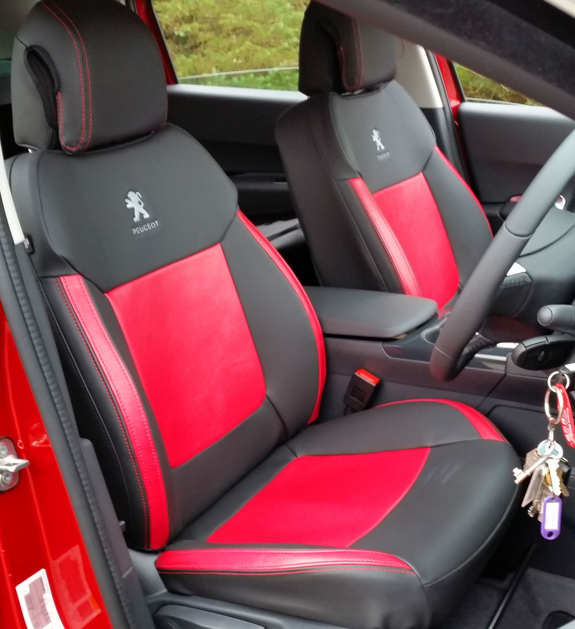 Peugeot 3008 Tailored Seat Covers