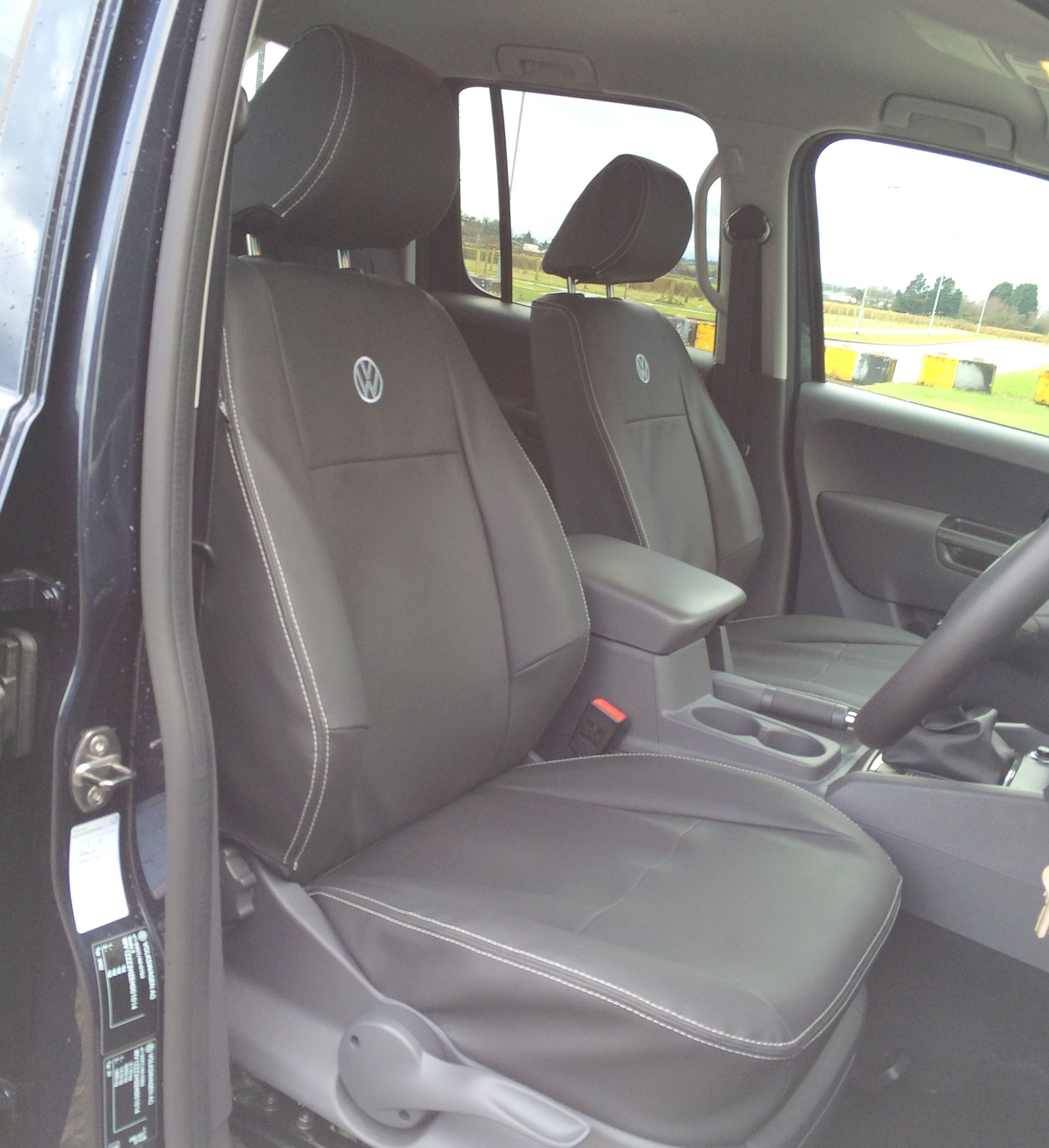 Amarok on Heavy Duty Car Seats