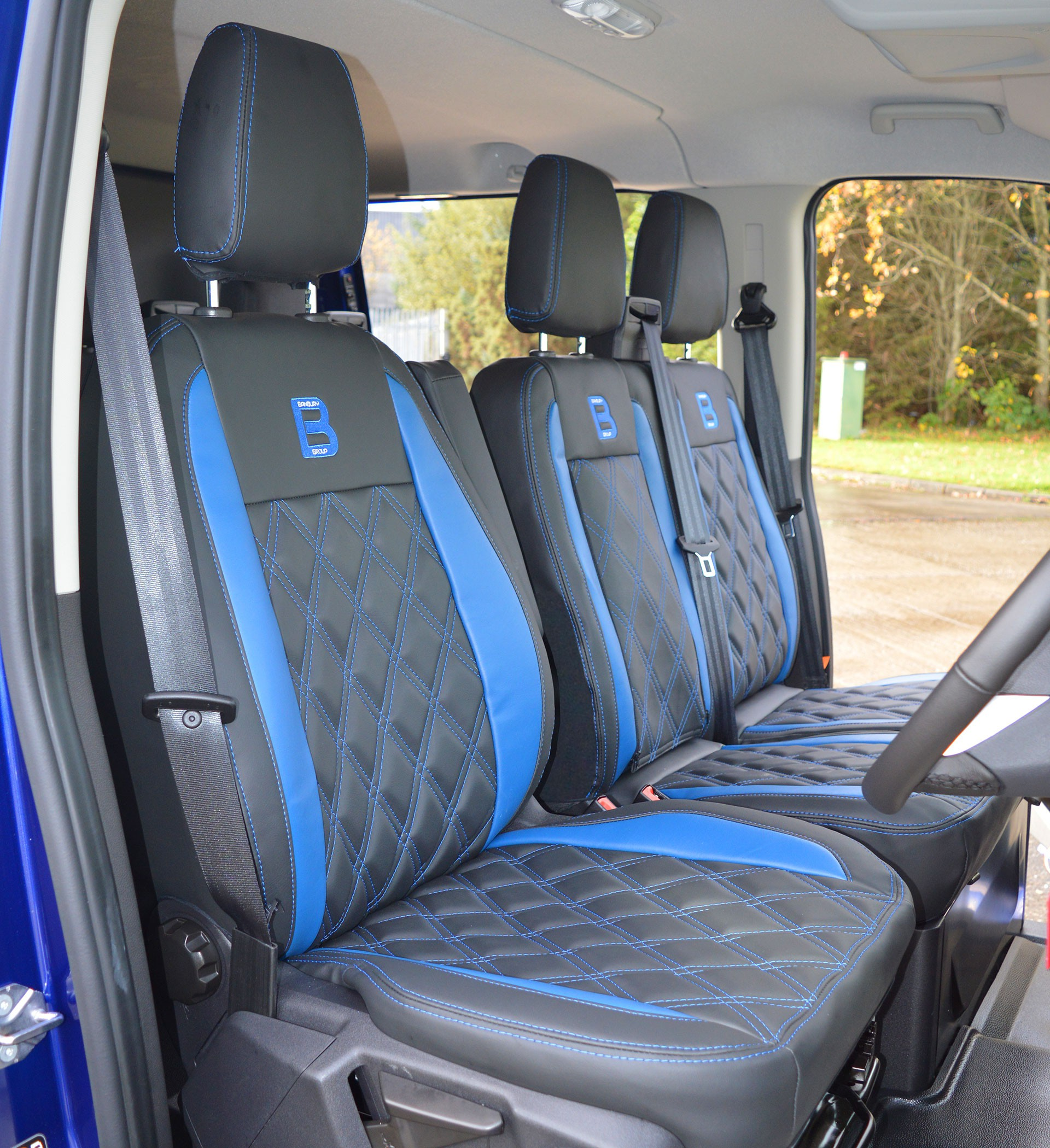 Embroidered Car Seat Protectors