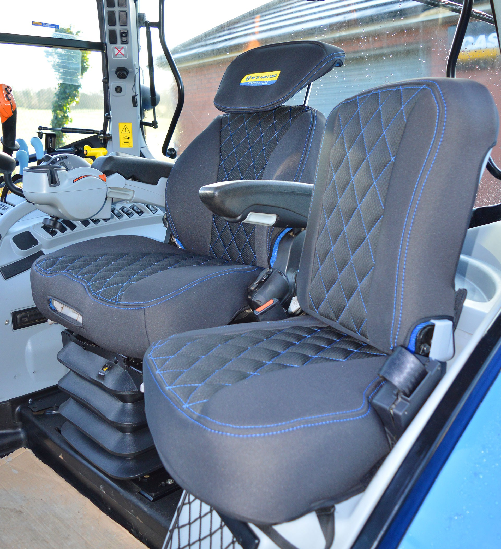 New Holland Tractor Tailored Seat Covers For Grammer