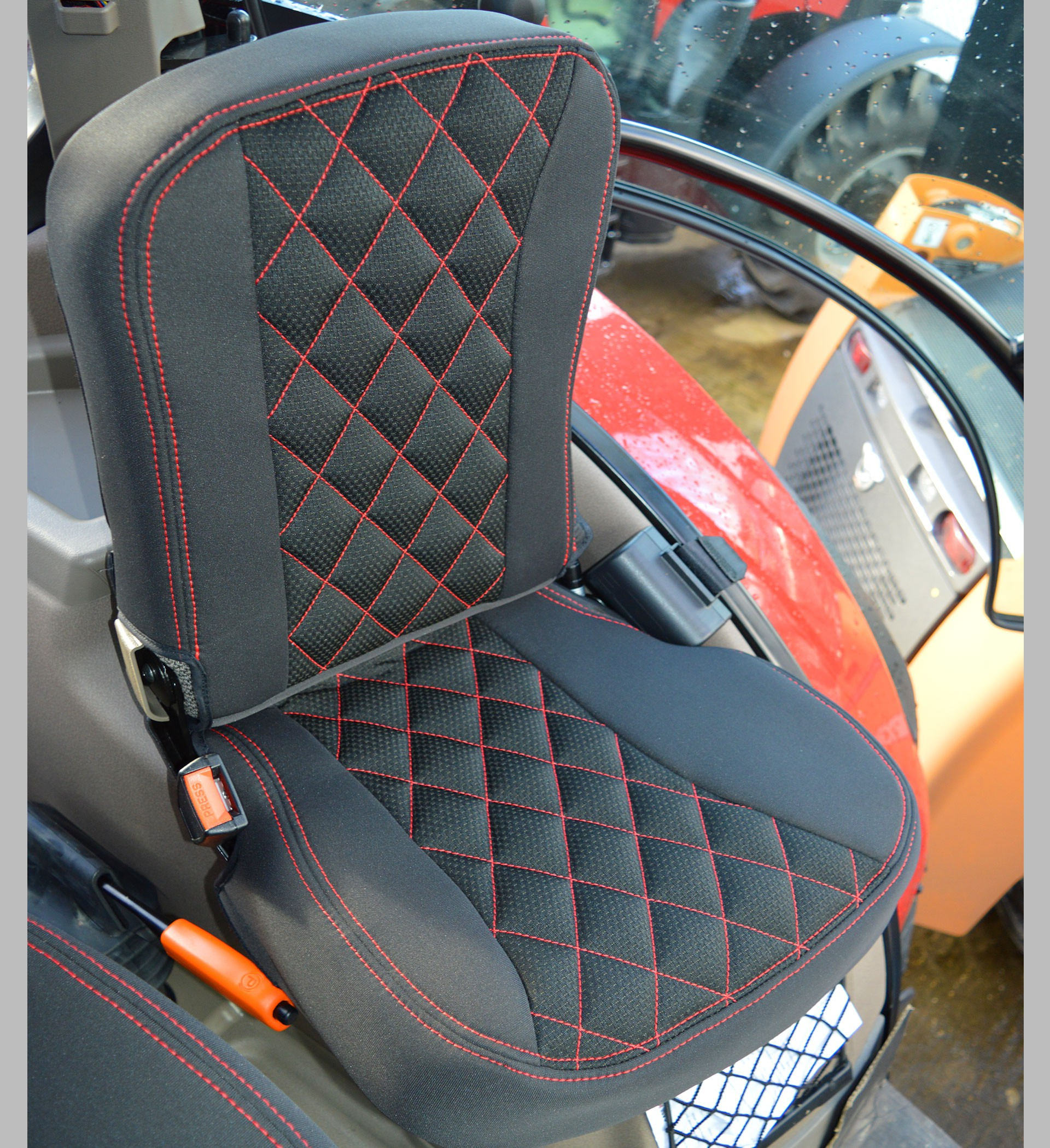 Grammer Seat Covers : Case ih tractor tailored seat covers for grammer dynamic