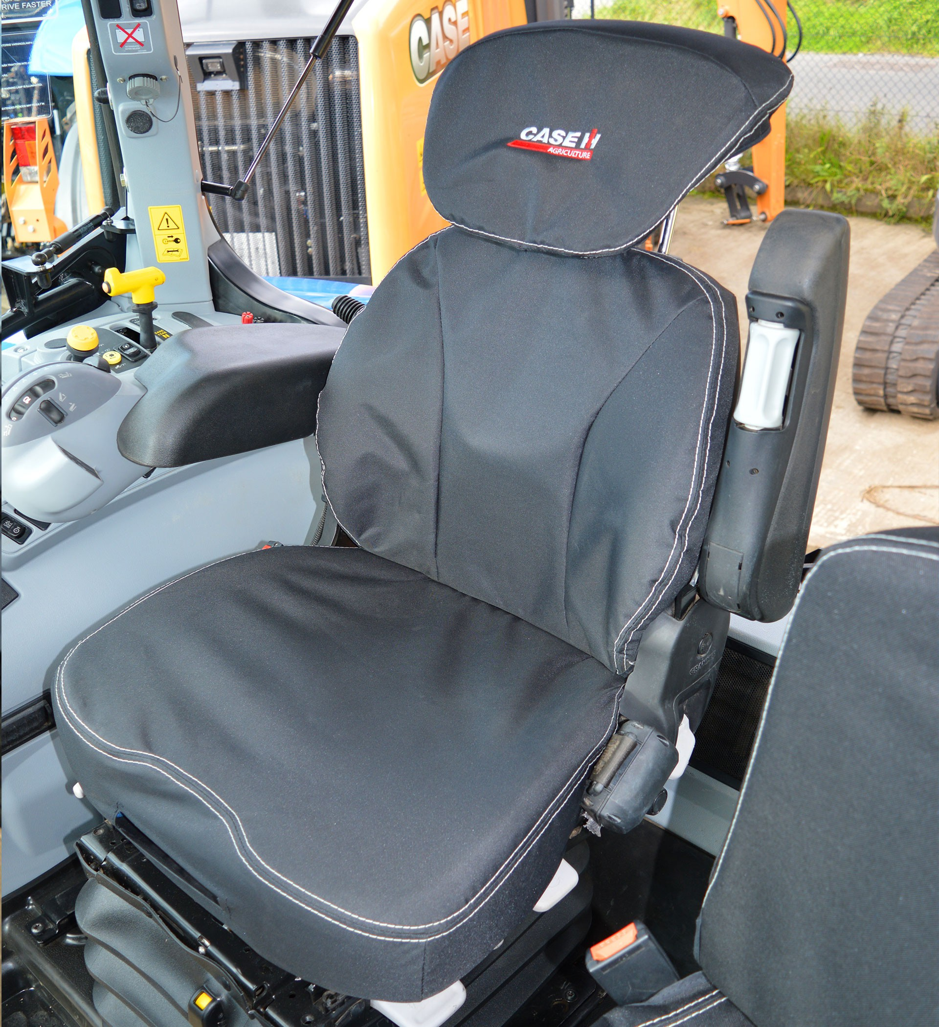 Case Ih Tractor Heavy Duty Grammer Maximo Dynamic Seat