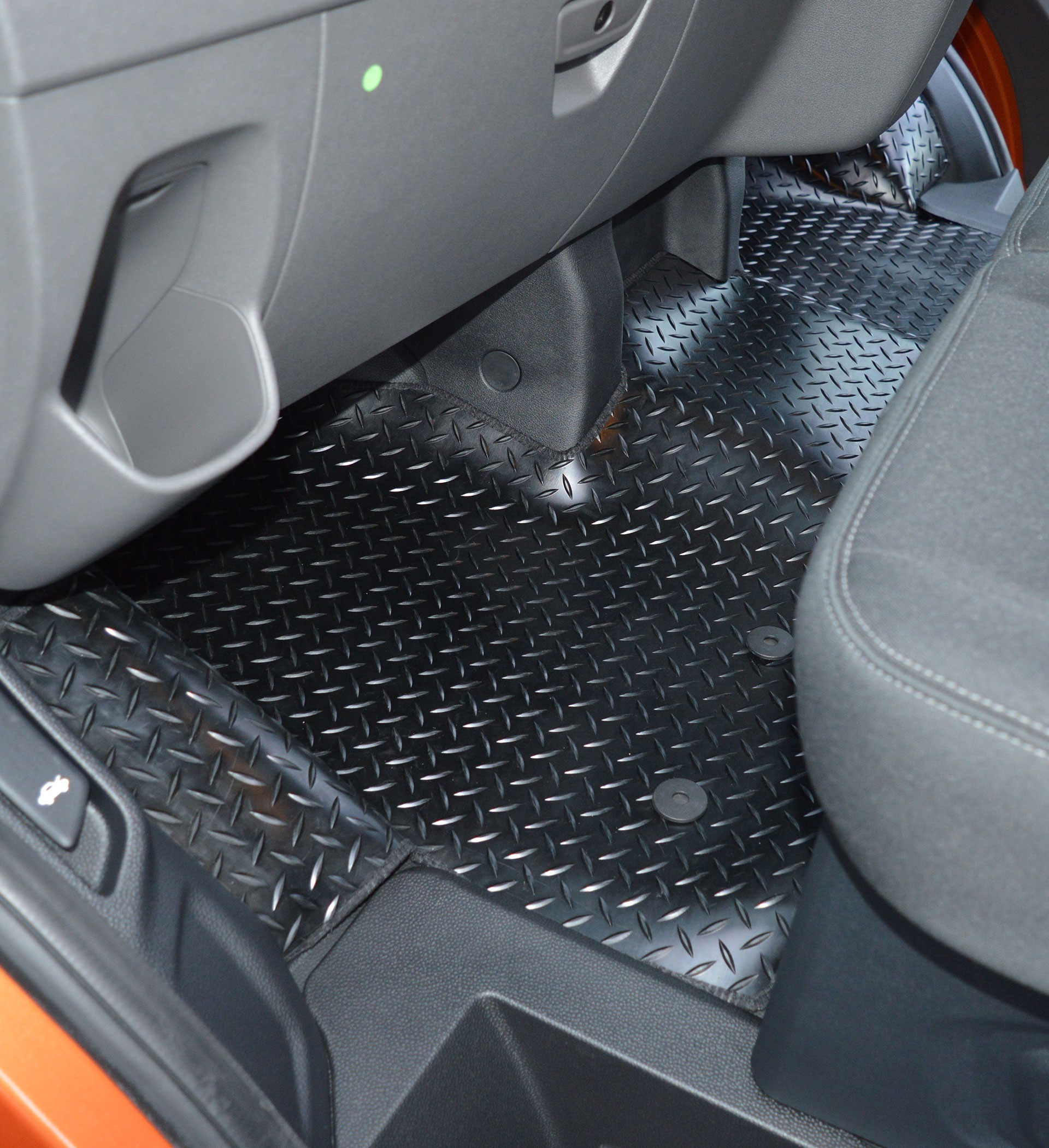 Ford Transit Custom Coverall Rubber Floor Mat Extra Coverage