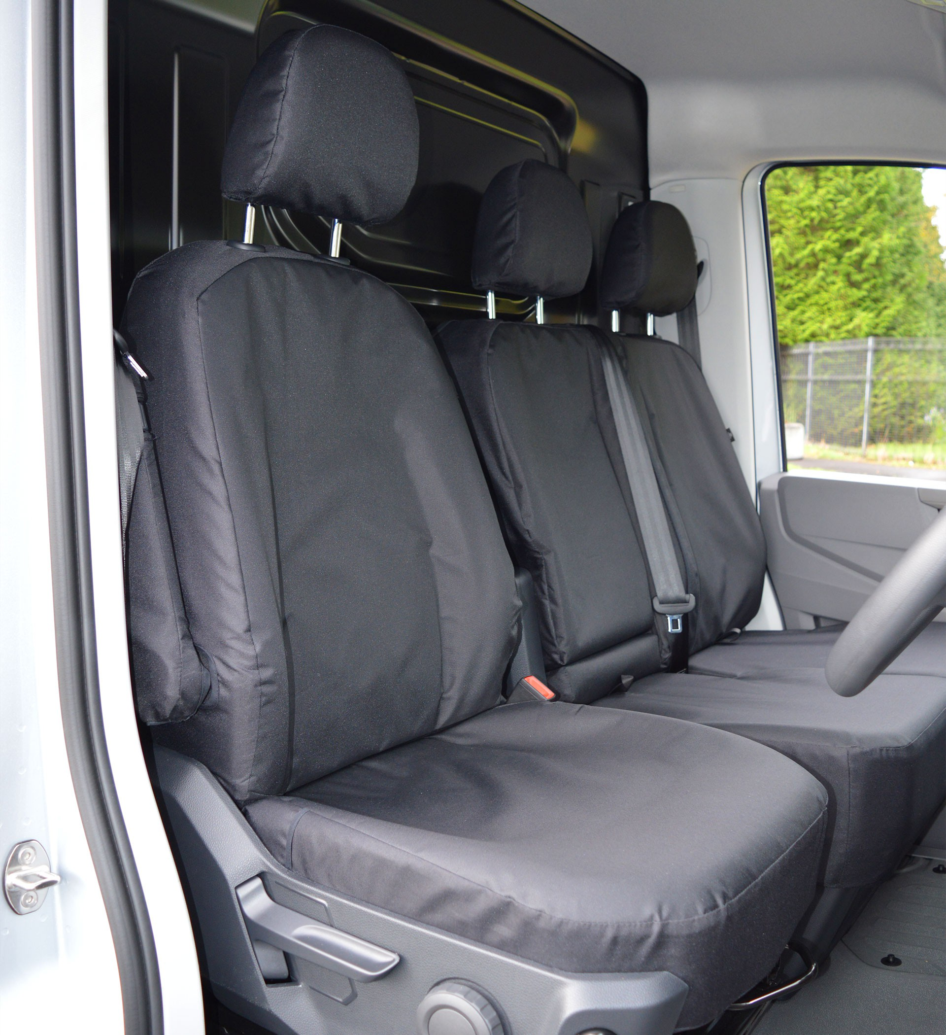 HEAVY DUTY QUILTED BACK SEAT COVER FOR VW VOLKSWAGEN UP 12-0N