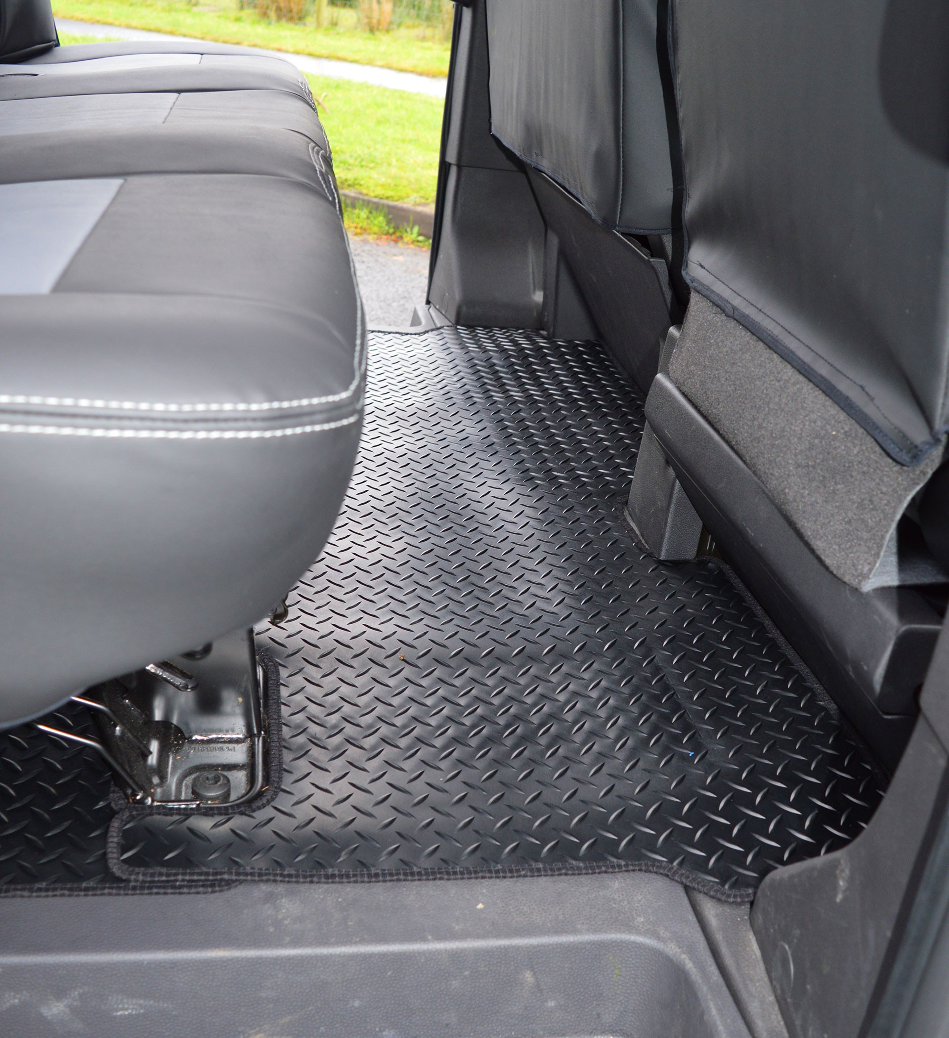 Ford Transit Custom Crew Cab Heavy Duty Rubber Rear Floor