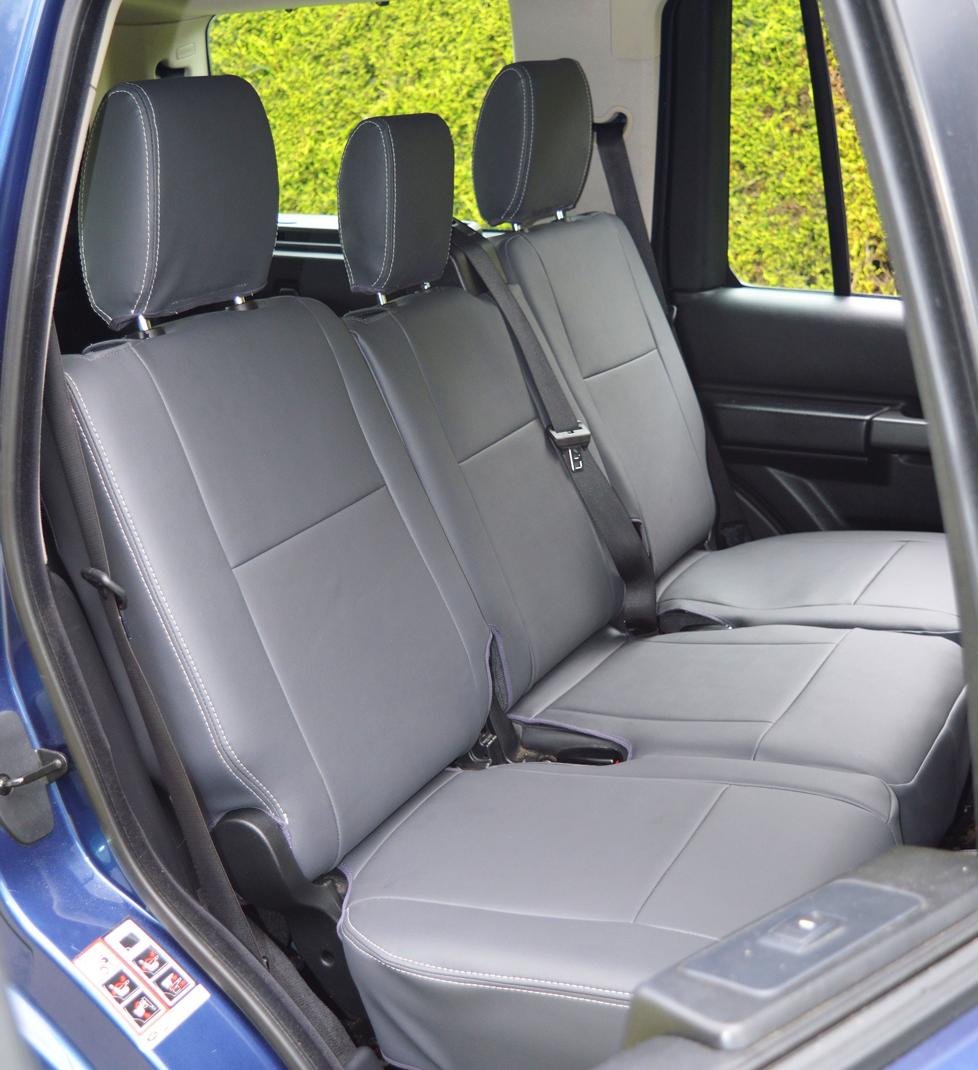 Land Rover Discovery 3 Tailored Waterproof Seat Covers Car