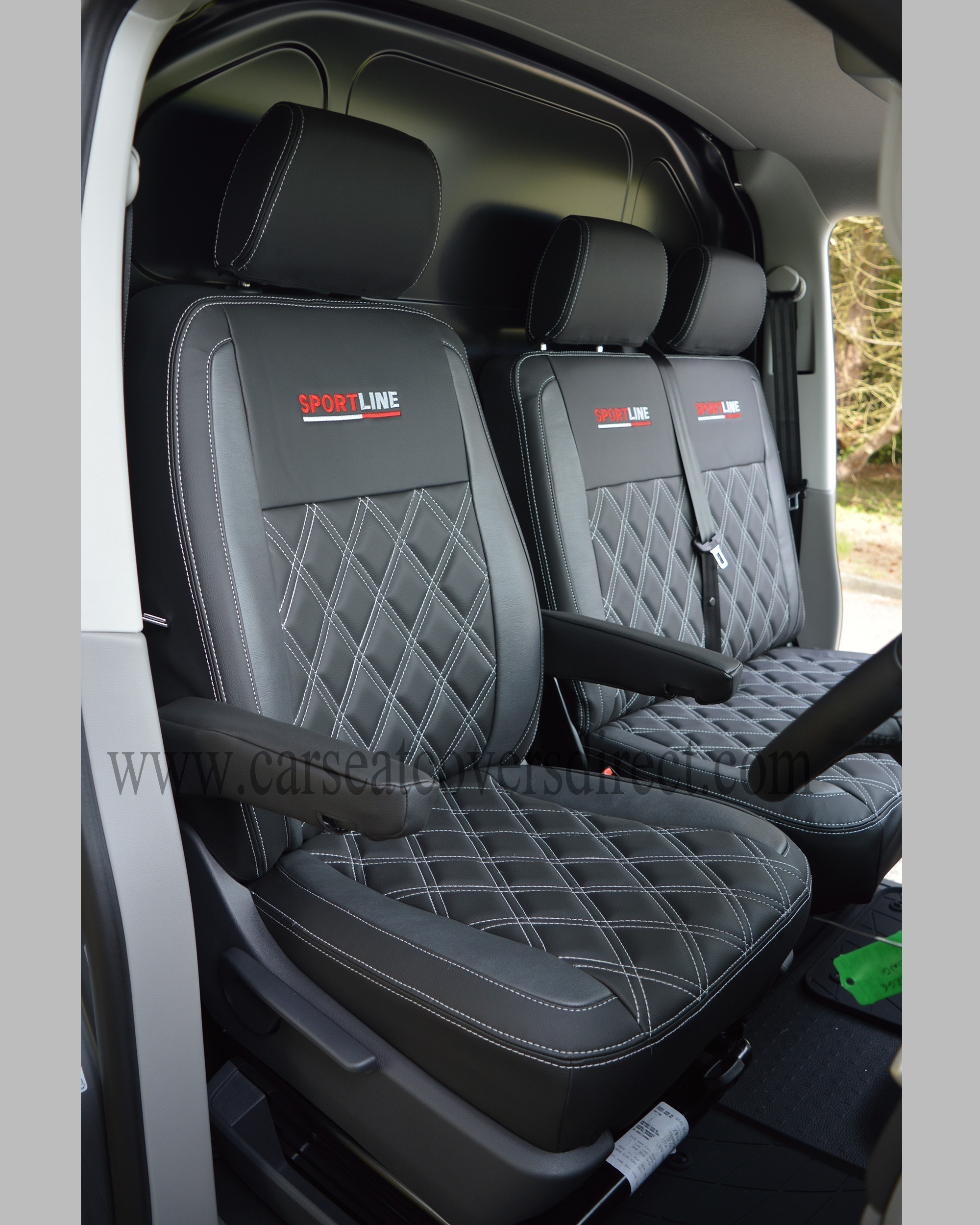 VW Transporter T5 Seat Covers