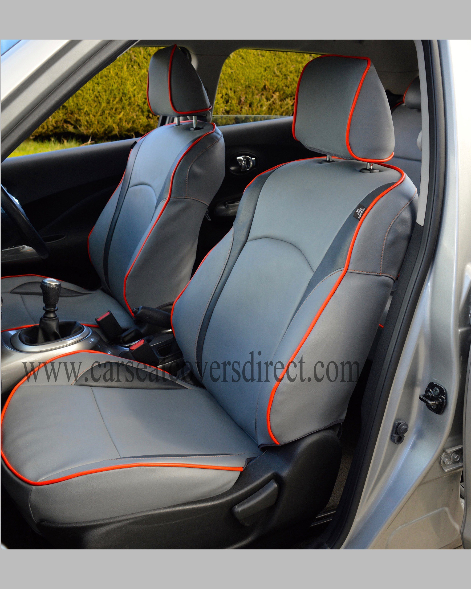 NISSAN JUKE Grey Seat Covers Car Seat Covers Direct - Tailored To ...