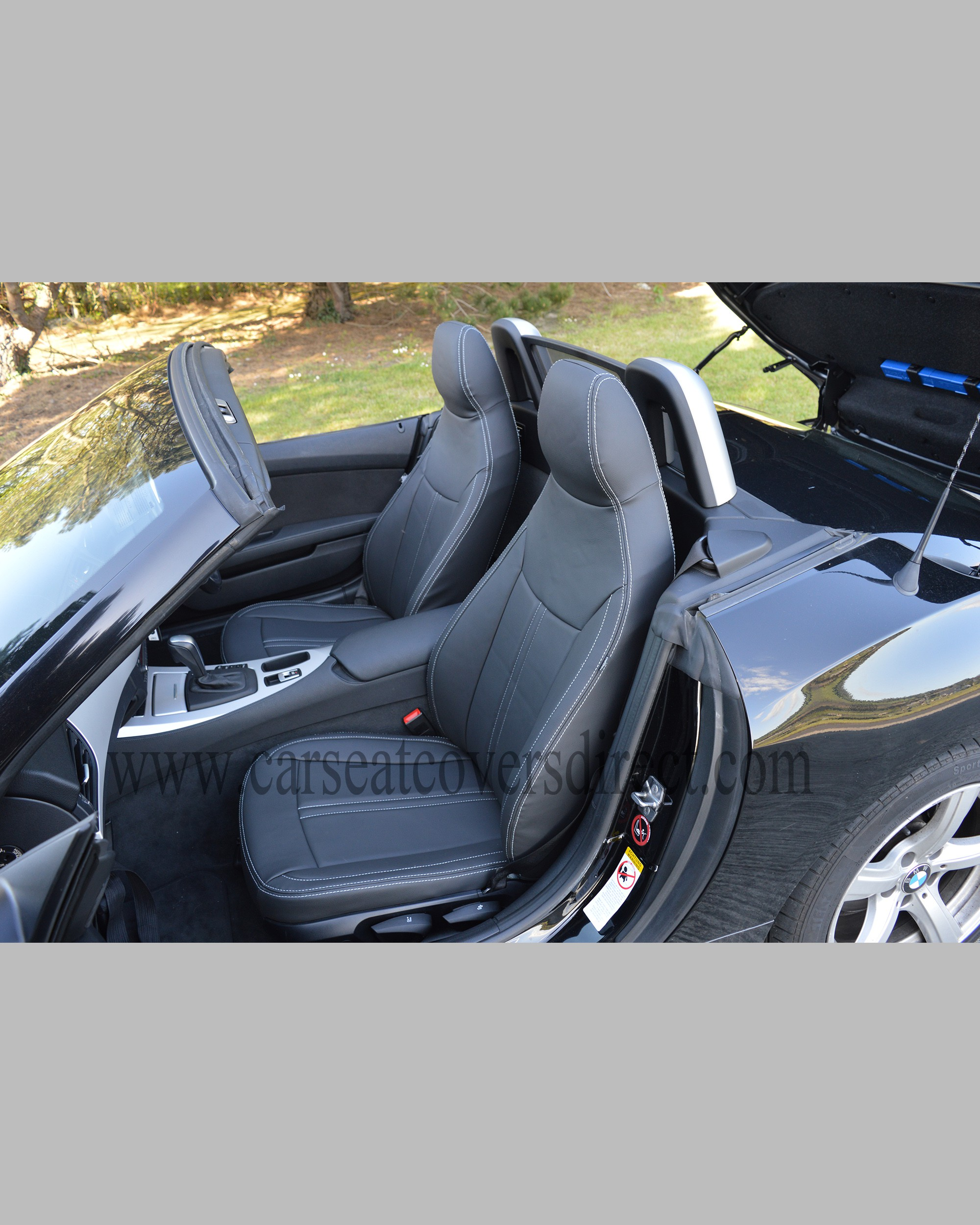 Bmw Z4 Car Cover: BMW Z4 E89 Tailored Waterproof Leather Look Seat Covers