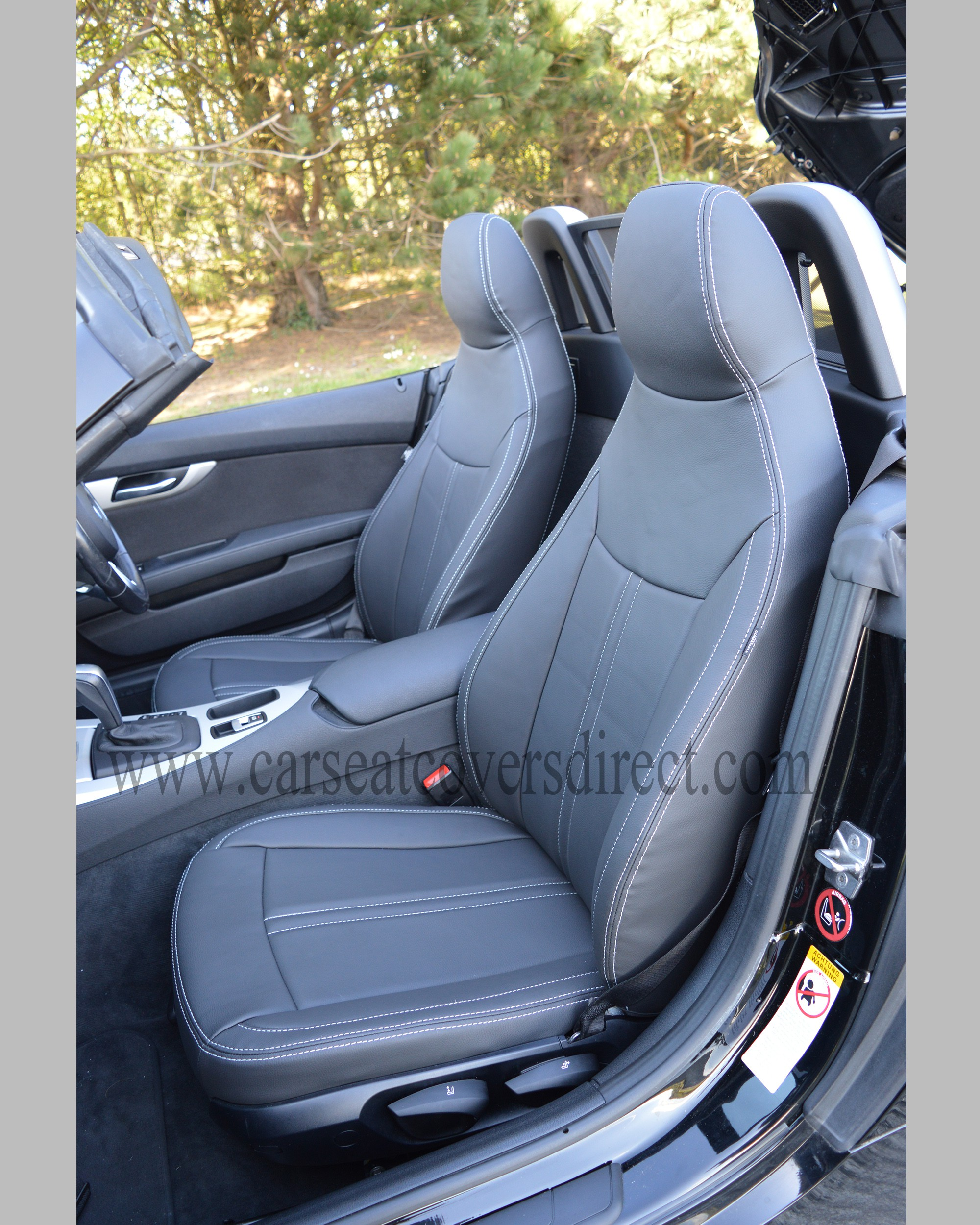 bmw z4 e89 tailored waterproof leather look seat covers car seat covers direct tailored to. Black Bedroom Furniture Sets. Home Design Ideas