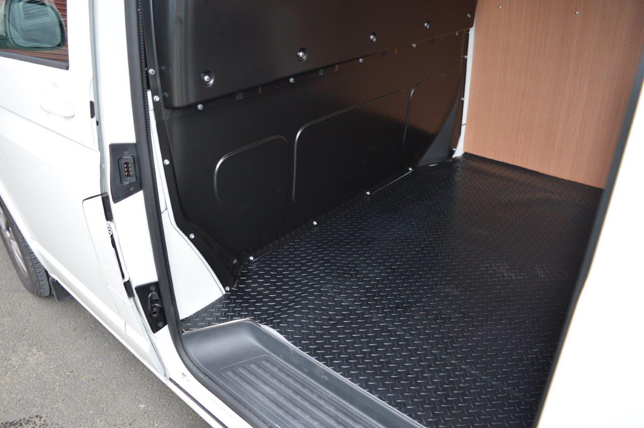Volkswagen Vw Transporter T6 Swb Rear Load Liner Rubber
