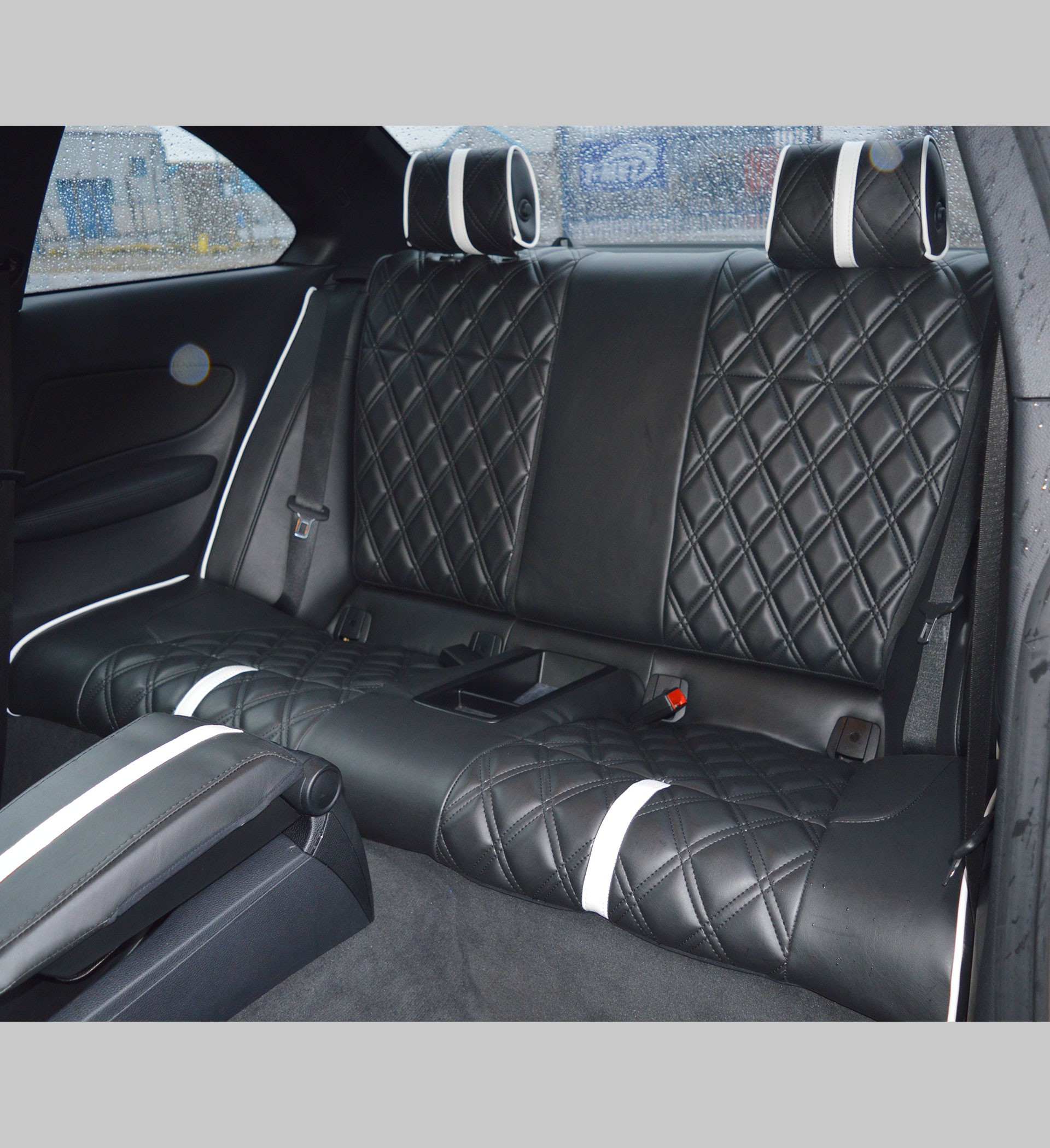 Bmw Series Coupe Diamond Quilted Tailored Seat Covers