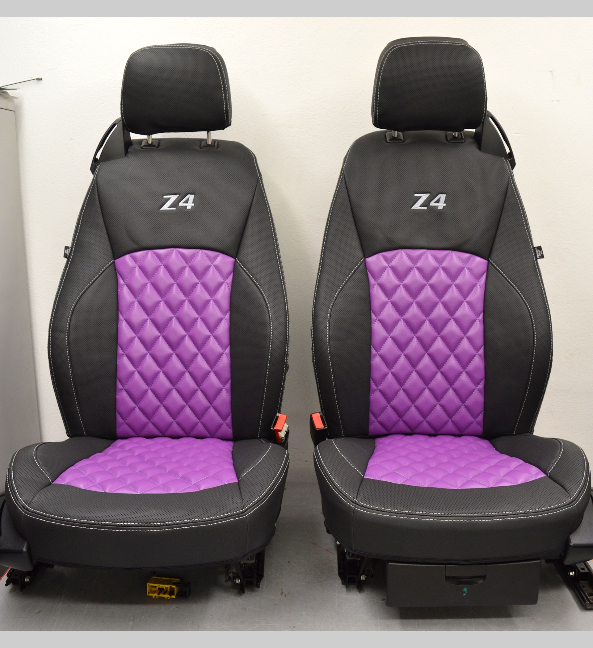Bmw Z4 Seat Covers: BMW Z4 E85 Tailored Waterproof Leather Look Seat Covers
