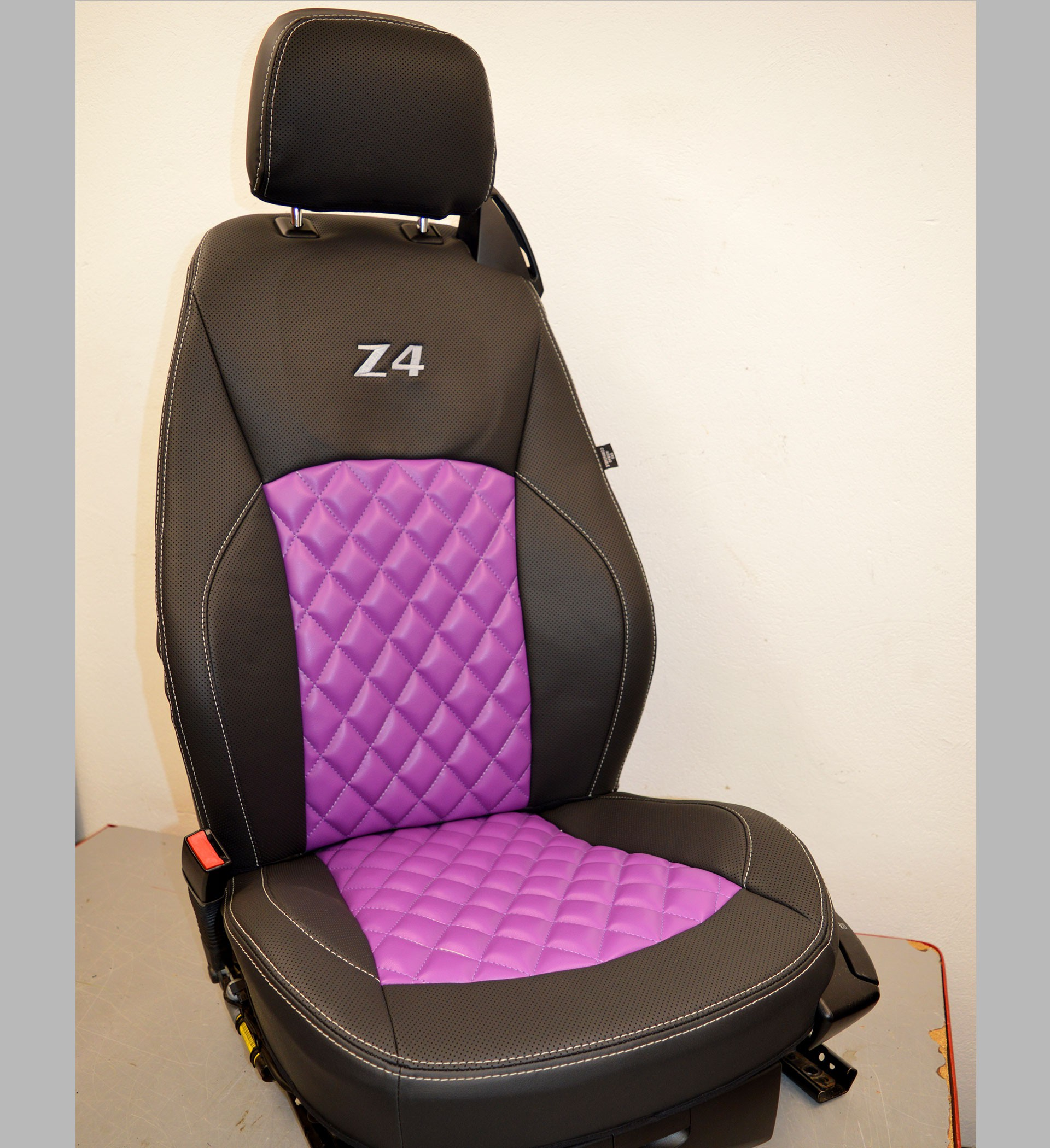 Bmw Z4 E85 Tailored Waterproof Leather Look Seat Covers