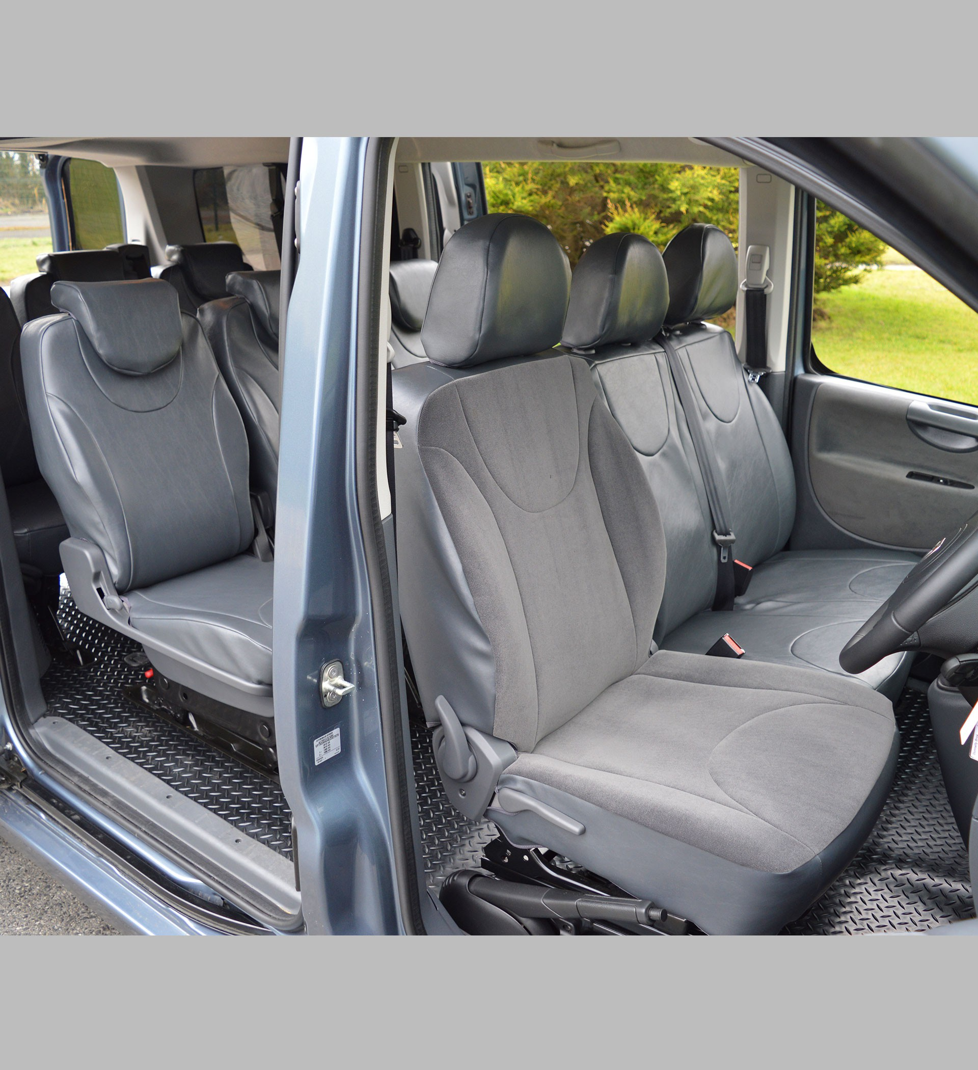 Toyota Proace 9 Seater Waterproof Tailored Van Seat Covers