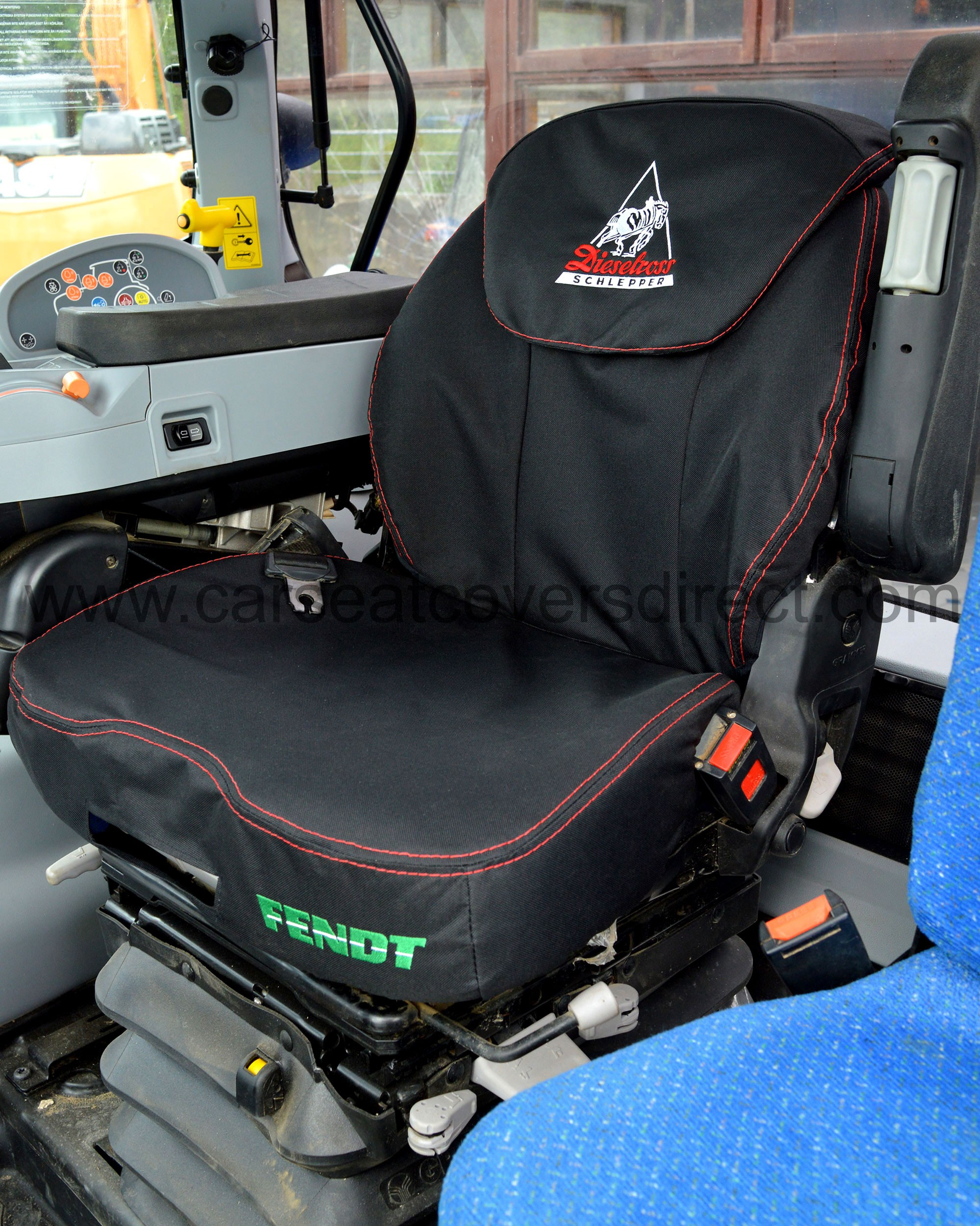Tractor Seat And Seat Covers : Fendt tractor grammer maximo dynamic seat covers with