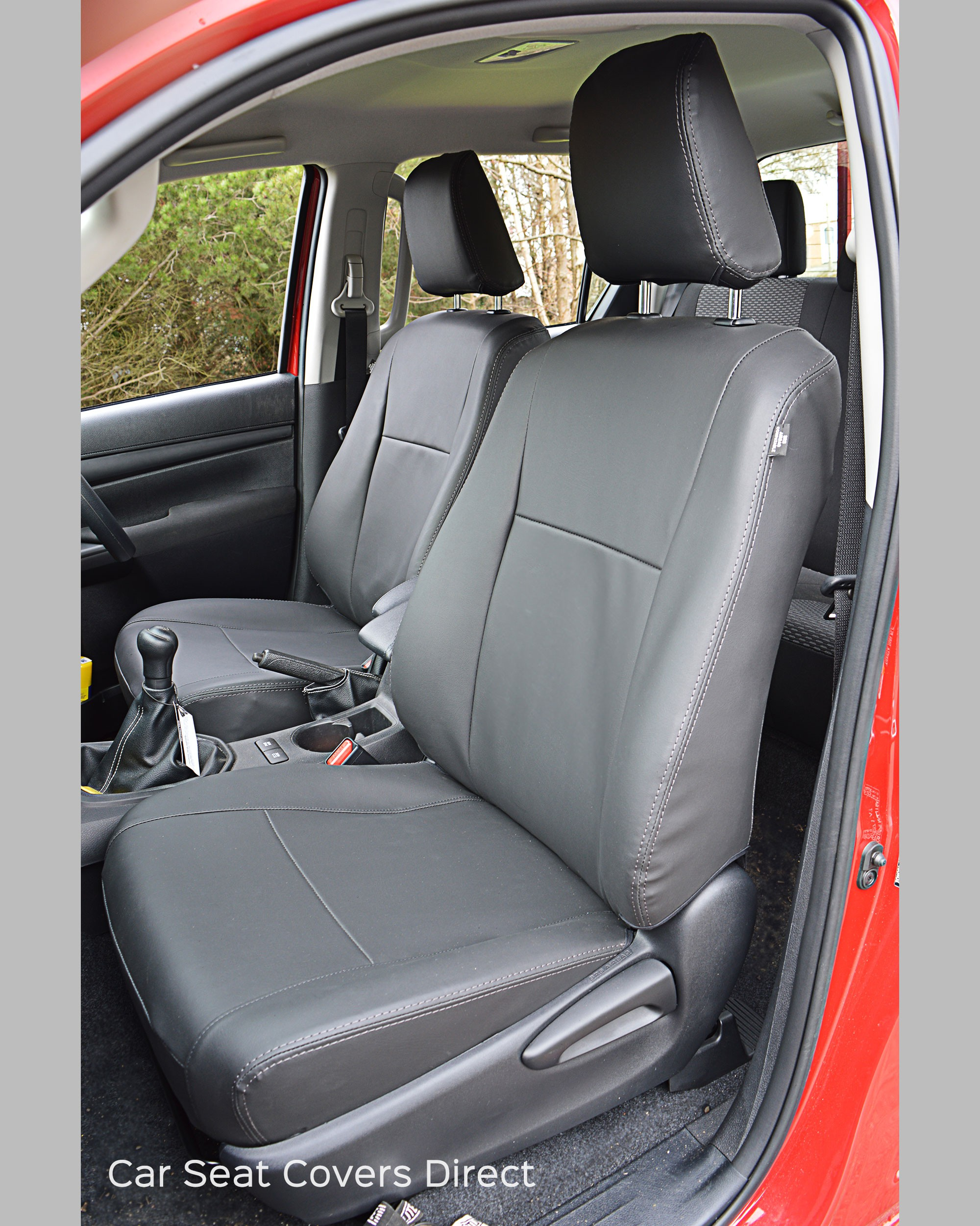 Toyota Hilux Tailored Seat Covers Car Seat Covers Direct