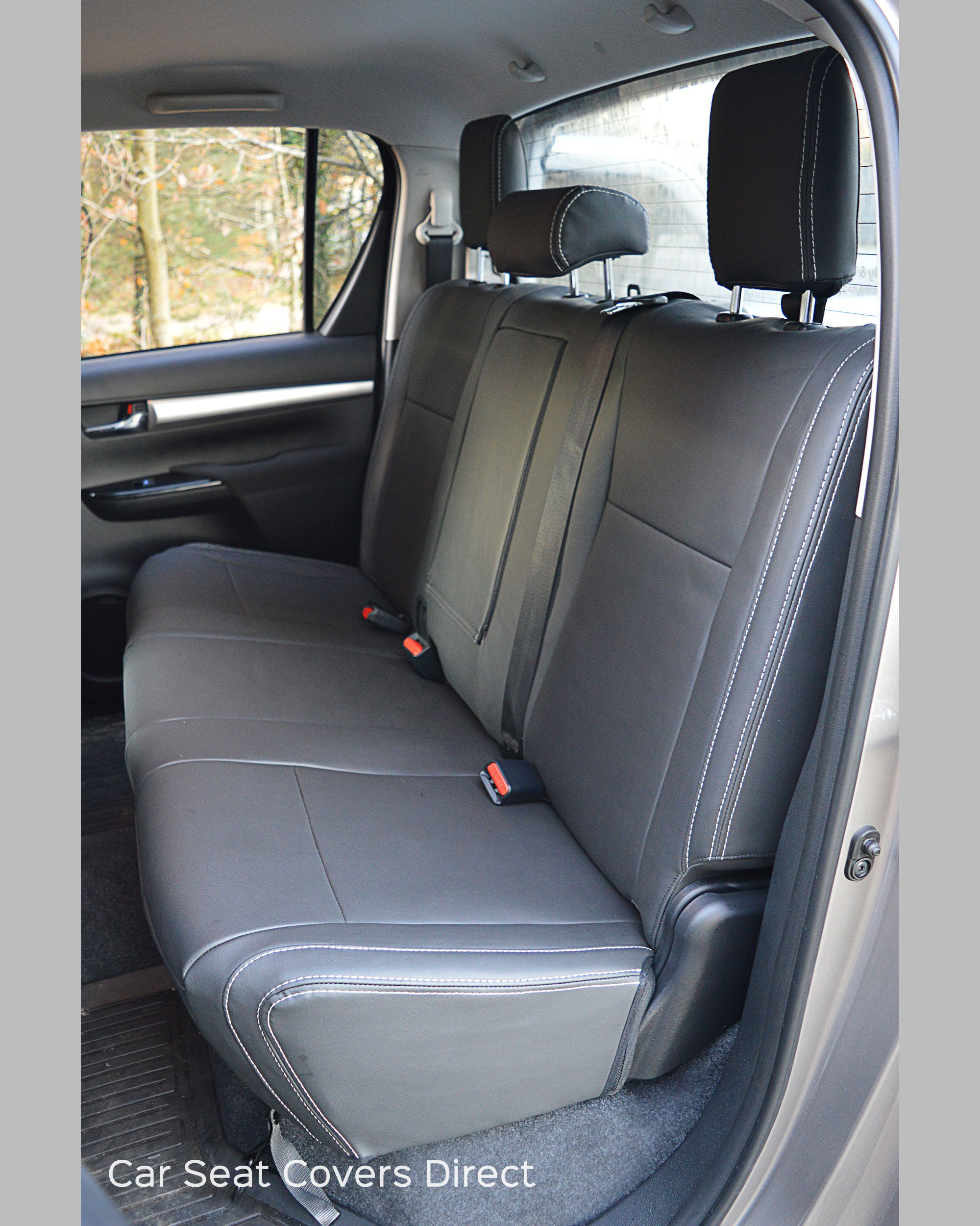toyota hilux seat covers rear seat