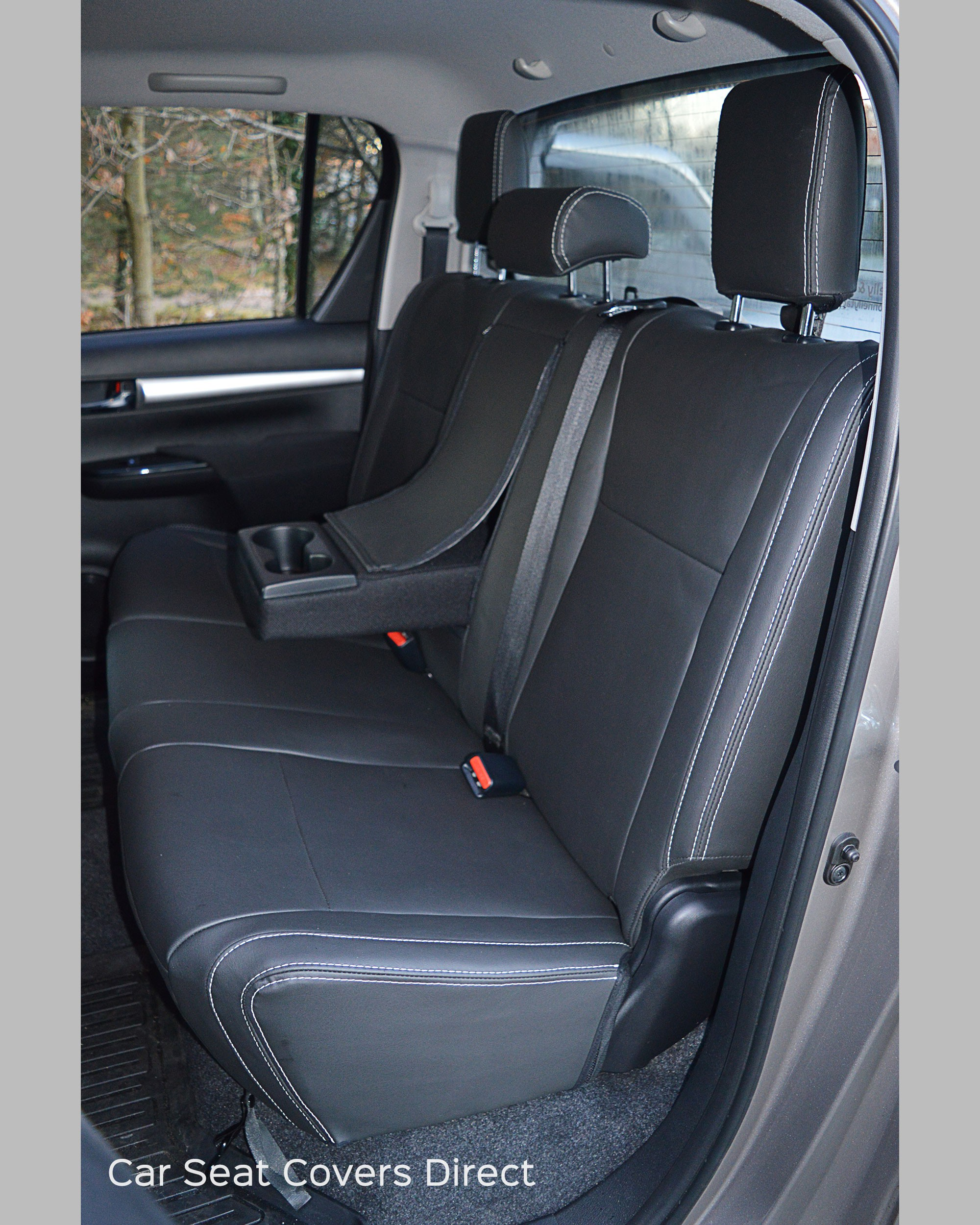toyota hilux seat covers rear seat with clipboard