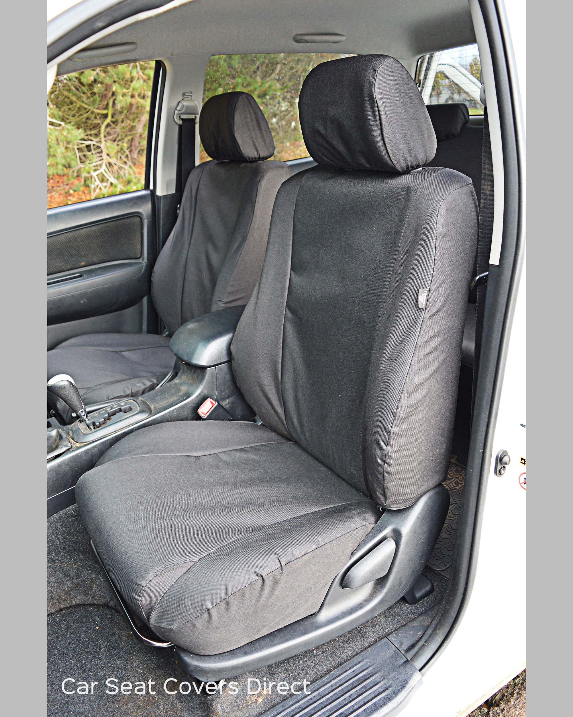 Heavy Truck Seat Covers : Toyota hilux heavy duty protective seat covers car