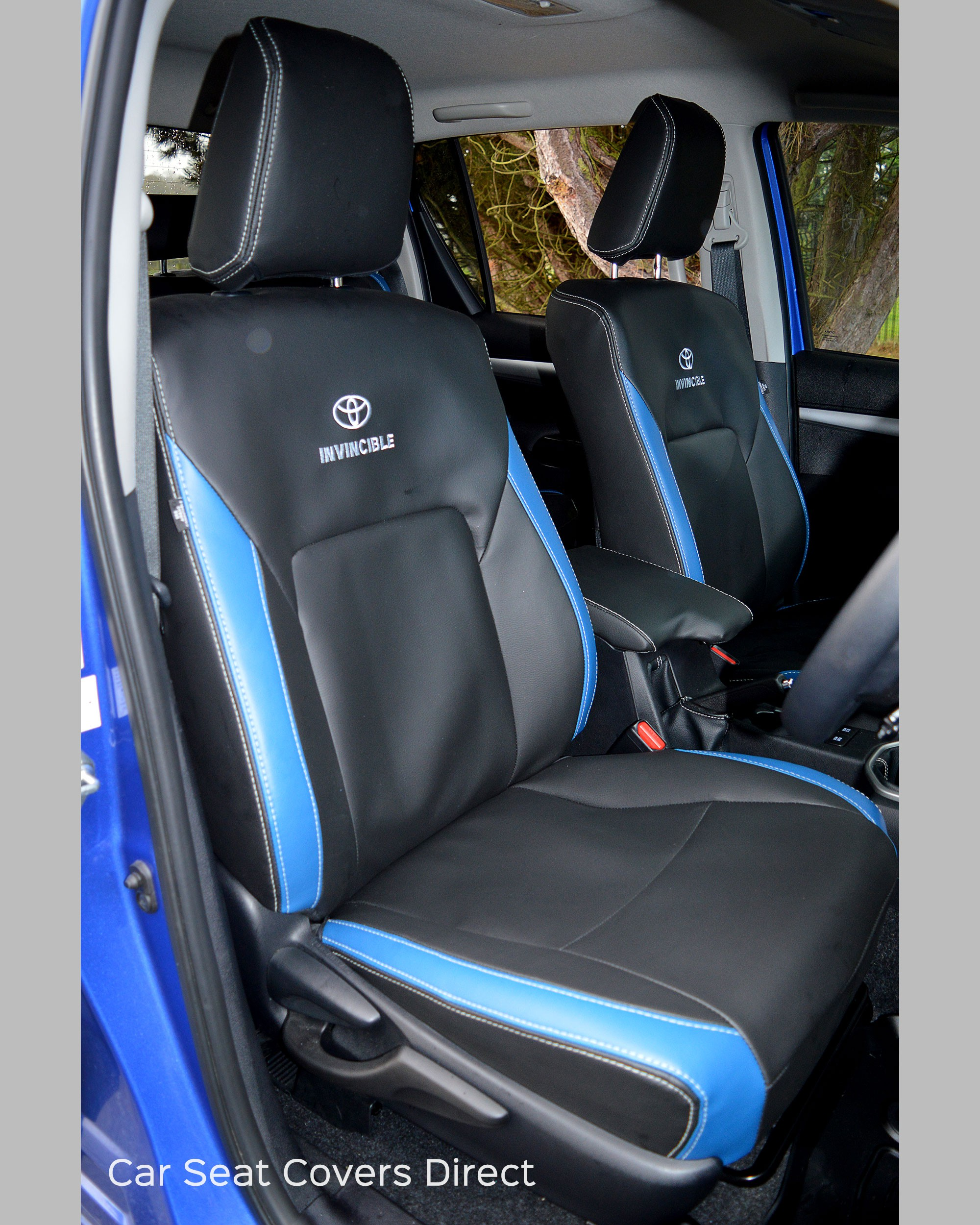 Toyota Seat Covers >> Toyota Hilux Invincible Tailored Seat Covers
